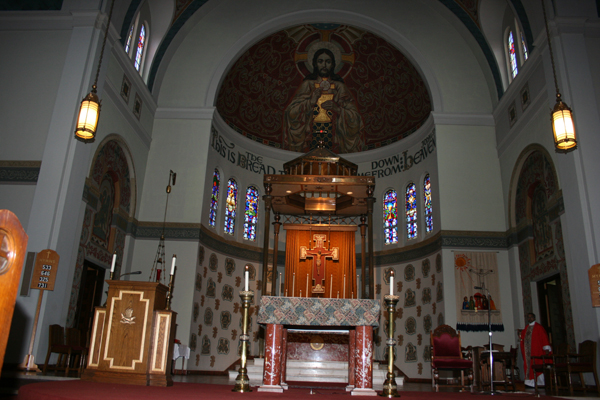 Blessed Sacrament sanctuary