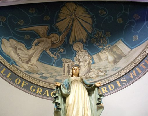 Blessed Mother sanctuary